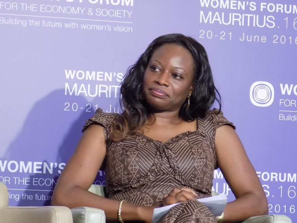 Dr. Unoma Ndili Okorafor at 2016 Women Forum in Mauritius