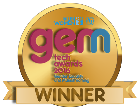 WAAW Foundation Unoma Okorafor Winner of ITU UN Women 2016 GEM Tech Awards