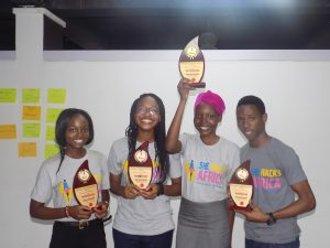 Winners of the She Hacks Africa Cohort #3