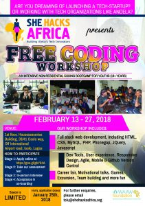 FREE CODING WORKSHOP FLYER