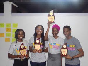 Winners of the She Hacks Africa Cohort #3
